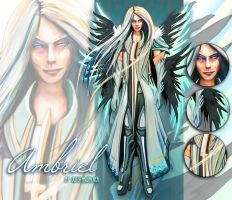 Ambriel - Archangel OC for sale AUCTION [CLOSED] by outstarwalker