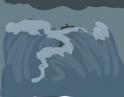 Seas would Rise by frisbii