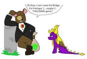Good Ol' Moneybags.... by Mew-Zacro