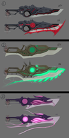 Heavy Sci-Fi Weapon Adopts (closed) by Nano-Core