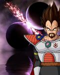 King Vegeta by MrQuatrario