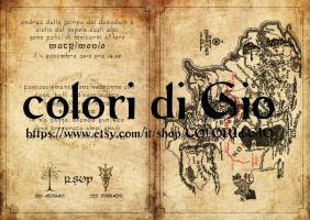 Folding Lord of the ring wedding invitation by giodimetal