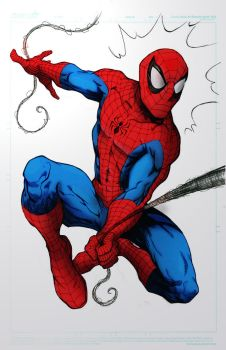 Spiderman Painting by marcioliver