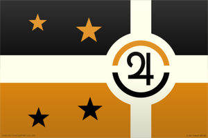 Jovian Commonwealth - FLAG by MisterK91