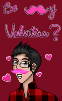 Be my Valentine? [Markiplier style~] by BadKorra