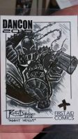Agent Venom sketch card by RussellJackson