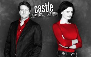 Castle-Beckett Red Promo by michygeary