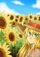 Sunflowers by manisaurus