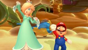 Rosalina and Mario in MP 10 by PeachyEstela