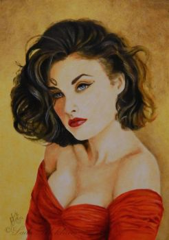 Sherilyn Fenn by slightlymadart