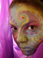 painted face 4 by AravisStock