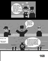 The World War 2 Saga Chap 40 Page 168 b and w by mamc1986