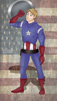 Captain America by candy-behemoth