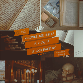 Knowledge itself is power - Stock Pack #02 by inglorious-bastard