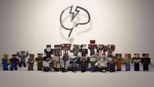 Mindcrack Group Picture by CedricsGraphics