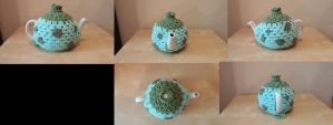 Commission - Bulbasaur Tea Cosy by Wykked-As-Syn
