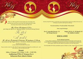 wedding invitation for email by bramsatriani