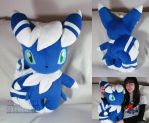 life size Meowstic (male) by MagnaStorm