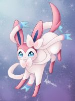 Sylveon by SeikaScarlet