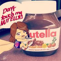 dont touch my nutella! by miss-blunder98