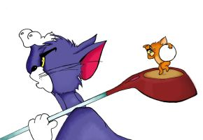 Tom and Jerry by liete