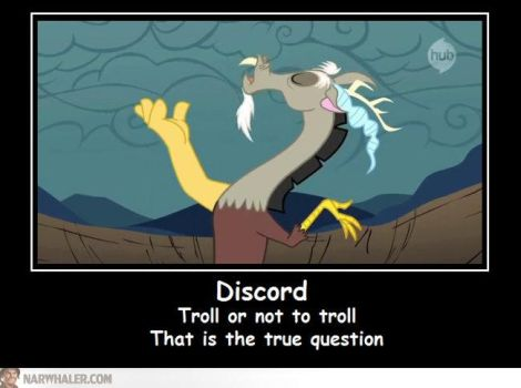 Discord: Troll or not to troll by shado013