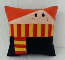 Handmade Harry Potter Ron Ronald Weasley Pillow by RbitencourtUSA