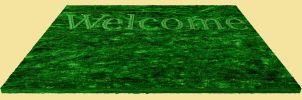 Welcome Mat 1 by markopolio-stock