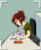 Studying by Ferm19