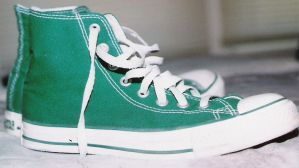 green chucks by allstars