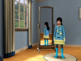 Sims 3 - Me in child form in everyday outfit 3 by Magic-Kristina-KW