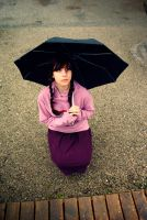 Yume Nikki Cosplay - It's raining again. by Hwa-Sun