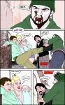 Zombie Hunt Sample Page 3 by UnloadComics