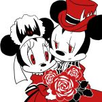 HM Mickey and Minnie Gif by Ro3ro-Aki
