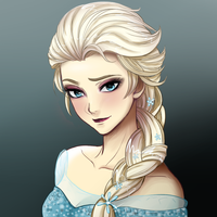 Queen Elsa by MagicalOtaku