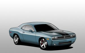 Dodge Challenger by Giosh