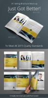 Photorealistic Brochure Mock-up by carlosnance