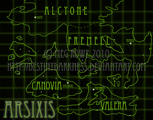 Arsixis World Map