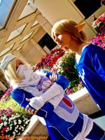 Sheik and Link Megacon 2011 by Crappy-Happy-Cosplay