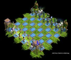 Age of Mythology Chess by Jithral