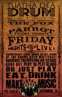 Friday Night Live typographic poster by BANE-OF-MY-EXISTENCE