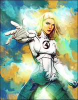 Invisible Woman by toniftw