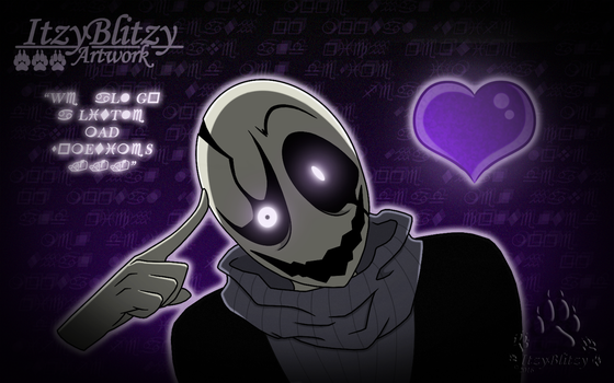 W.D. Gaster: We All Go A Little Mad Sometimes... by ItzyBlitzy