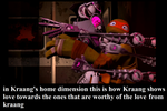 how kraang shows love by gameguy199