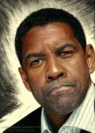 Denzel Washington by AmBr0