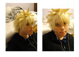 Trimmed Naruto Wig by S-Xasus