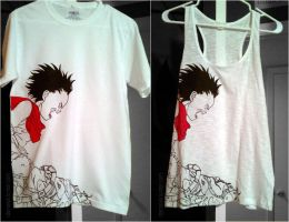 Akira Tetsuo Shirt by LnknPrk7Snoopy
