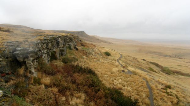 head-smashed in buffalo jump by xjanicex