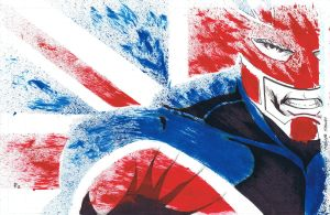 Captain Britain by Shadowrenderer