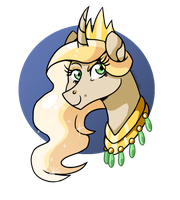 Princess Solar Flare The First by KitKatsArt